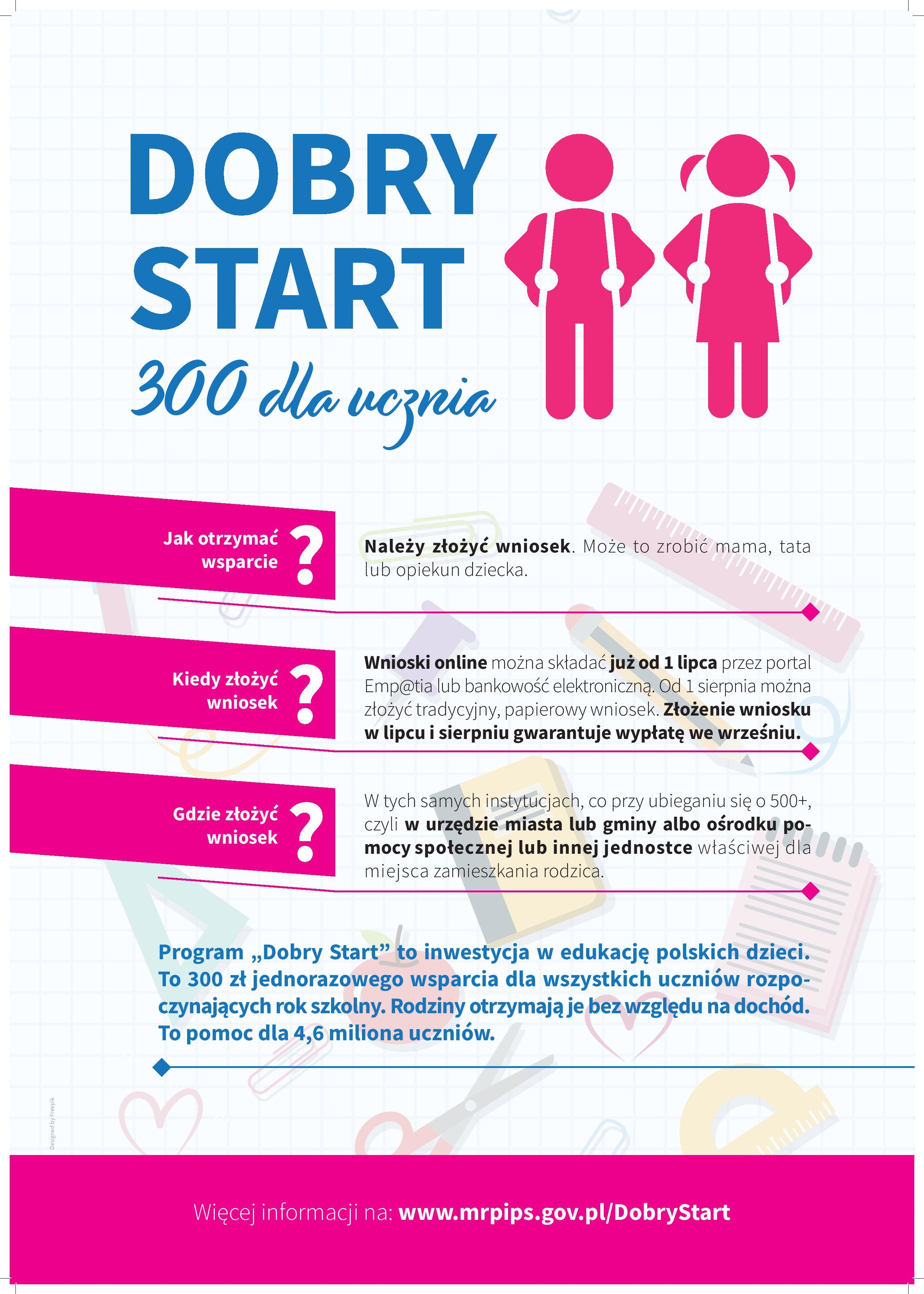 DOBRY START 300 DLA UCZNIA ! ! !